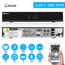 KKmoon 4CH Channel CCTV Video Recorder 1080P 5-in-1 NVR AHD TVI CVI DVR G0M8