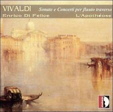 VIVALDI: SONATE E CONCERTI PER FLAUTO TRAVERSO NEW CD