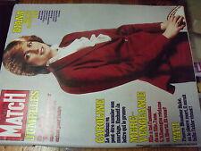 µ? Revue Paris Match n°1747 Diana Israel terre de guerre J.Tati  Dutronc Hardy