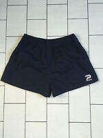 VINTAGE RETRO BOLD URBAN OLD SCHOOL ATHLETIC RUNNING SPRINTER SPORTS SHORTS