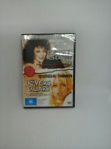 JOAN COLLINS FATAL CHARM & GOLDIE HAWN LOVERS AND LIARS DOUBLE FEATURE DVD NEW