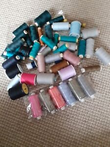 Bundle Lot Of Sewing Threads Muliple Colours