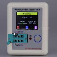 2019 Transistor Tester TFT Diode Triode Capacitance Meter LCR ESR NPN PNP MOSFET