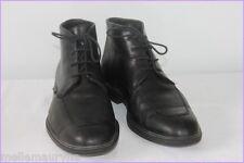 Bottines Boots Homme MEPHISTO Cuir Noir T 7.5 US/ T 40.5 EUR BE