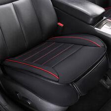 Universal Auto PU Leder 3D Sitzauflage Sitzbezüge Sitzkissen Sitzmatte Schwarz