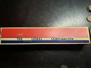 Vintage Lionel 6802 Flat Car with Girders in original Box