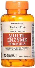 Super Strength Multi Enzyme Digestive Formula 120 Caplets ** AMAZING PRICE *
