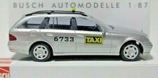 Busch 49459 Mercedes-Benz E-Klasse T-Modell Taxi Silber 1/87 H0 Neu + OVP