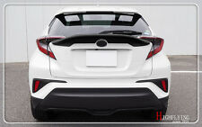Black Car Spoiler Wing accessory Car styling For TOYOTA C-HR CHR 2016 2017 2018