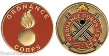 """ARMY ORDNANCE CORPS 1.75"""" MILITARY CHALLENGE COIN"""