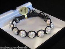 Meilleure Qualité Shamballa Bracelet Rainbow AB cristal Swarovski véritable hématite
