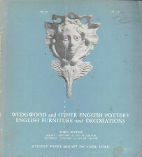 SOTHEBY'S Wedgwood Staffordshire English Pottery Furniture Auction Catalog 1975
