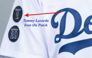 Tommy Lasorda Patch #2 Los Angeles Dodgers LA 2021 Baseball Jersey Patch