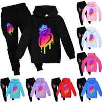 Royally B Kids Hoodie Hooded Pants Trousers Girls Brianna's Merch Tracksuit Set