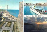 Cartolina Termoli 3 vedute