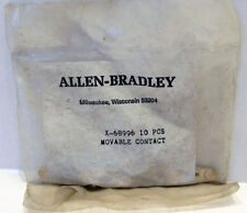 NOS Allen Bradley x-68996 Movable Contact in Factory Sealed Bag 10 Pcs