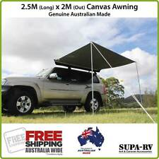 2.5m x 2m SUPA-PEG ECO-RV 4X4 VEHICLE AWNING (4WD, CAR, HORSE FLOAT)