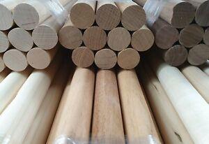 10 Stück Rundstäbe Treppensprossen Geländerstäbe Kiefer 30x900 mm B-Ware