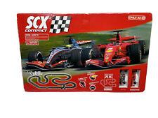 SCX Compact F-1 Slot Race Track Set 1:43 Scale Formula 1 Ferrari Hot Wheels 🏎