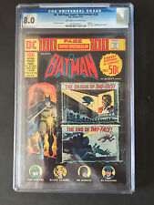 CGC 8.0 VF VERY FINE SUPER SPECTACULAR BATMAN  # 20  US EDITION OW/WP YOP 1973