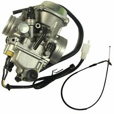 Carburetor With Throttle Cable For Honda ATC250SX Big Red FourTrax 250