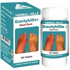 Gauty Hills Herbal Pain Relief Swelling & Inflammation Caused By Gaut 60 Tablets