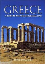 NEW BOOK, Greece; A guide to the Archaeological Sites by Furio Durando Hardcover