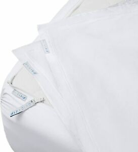QuickZip Fitted Sheet - Includes 1 Fitted Sheet Base & 2 Zip-On Sheets - Easy to