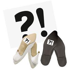 """Schuhsticker  Schuh Sticker """"?!"""" 2 Stk. Schuh Sticker Aufkleber Brautschuhe"""