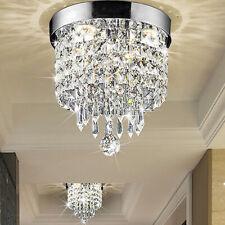 Crystal Chandelier Pendant Ceiling Light Fixture Kitchen Lighting Hanging Lamp