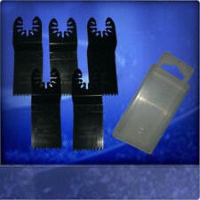 5 Sägeblätter 32mm Japan Sägeblatt Aufsätze für Einhell RT MG 10,8Li + Box