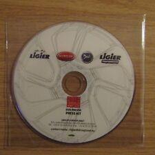Ligier Professional Microcar Dué Press Presse Kit DVD 2012 Paris Motor Show