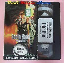 film VHS cartonata ROBIN HOOD Kevin Costner Morgan Freeman  1991  (F36)  no dvd