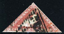 CAPE OF GOOD HOPE 1858 One Penny Deep Rose-Red Wmk Anchor SG 5b VFU
