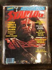 Starlog 42 Ft. Star Trek Klingon, Flash Gordon, Dr. Who GA1-51