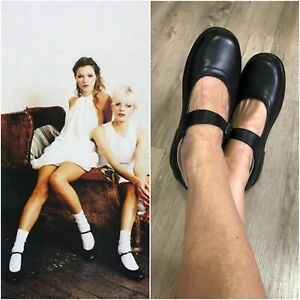AIRFLEX EVERLITE COMFORT MARY JANE SHOE 8 black leather low flat heel As NEW
