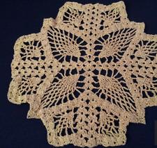 Handmade Crochet Glitter Doilie
