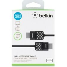 Belkin HDMI Cable - 5.91 ft HDMI A/V Cable for TV, Audio/Video Device, Satellite