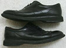 Rockport Black Dress Shoes Leather Uppers Men's Solid 12 Twelve Comfort DMX Mans