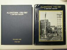 Allentown 1762-1987 A 225-Year History 2 Volume Set, Hardcover