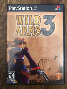 Wild Arms 3 - Sony PlayStation 2 PS2 - Complete