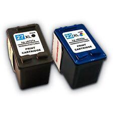 2x Druckerpatronen für HP 27 XL und 22 XL  Officejet 5610   bei Nano