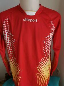 maillot de football gardien  UHLSPORT taille L vintage