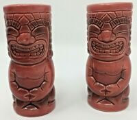 Tiki Salt and Pepper Shakers marked Hawaii 2006