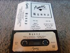APOSTLE...HYMNS.....indie US....XIAN...POWER METAL...1987...RARE...DEMO cassette