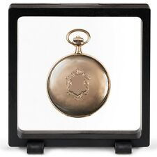 Magic Frame 110 Display 4.25 x 4.25 Floating Stand Pocket Watch ALL Coin Holder
