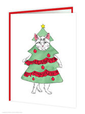 Funny Christmas Xmas Card Cute Witty Amusing Comedy Humour Quirky Modern Cheap