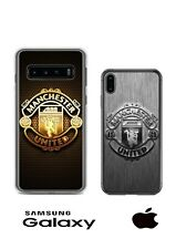 Manchester United Silver/gold Iphone/Samsung/Huawei Phone Case