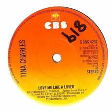"Tina Charles - Love Me Like A Lover - 7"" Vinyl Record Single"