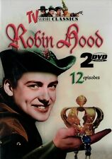 Robin Hood - TV Series 12 Episodes (DVD 2 disc) Richard Greene NEW